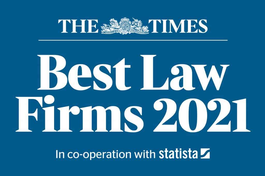 The Times Best Law Firms 2021